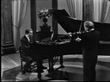 Иоганн Себастьян Бах - Соната №4 для скрипки и клавесина До-минор (исп. Иегуди Менухин, Гленн Гульд)